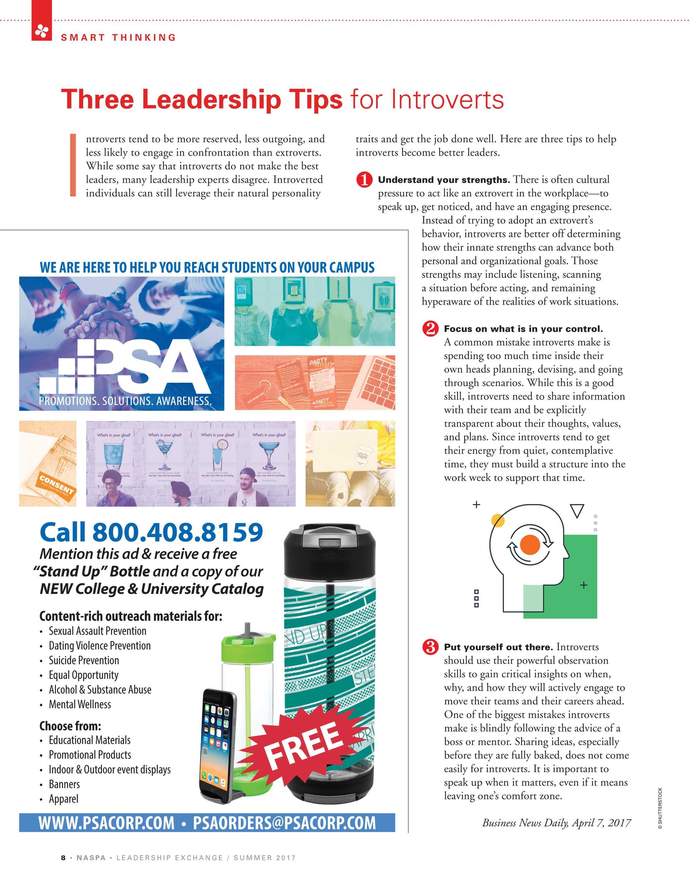 Leadership Exchange - Summer 2017 - page 7