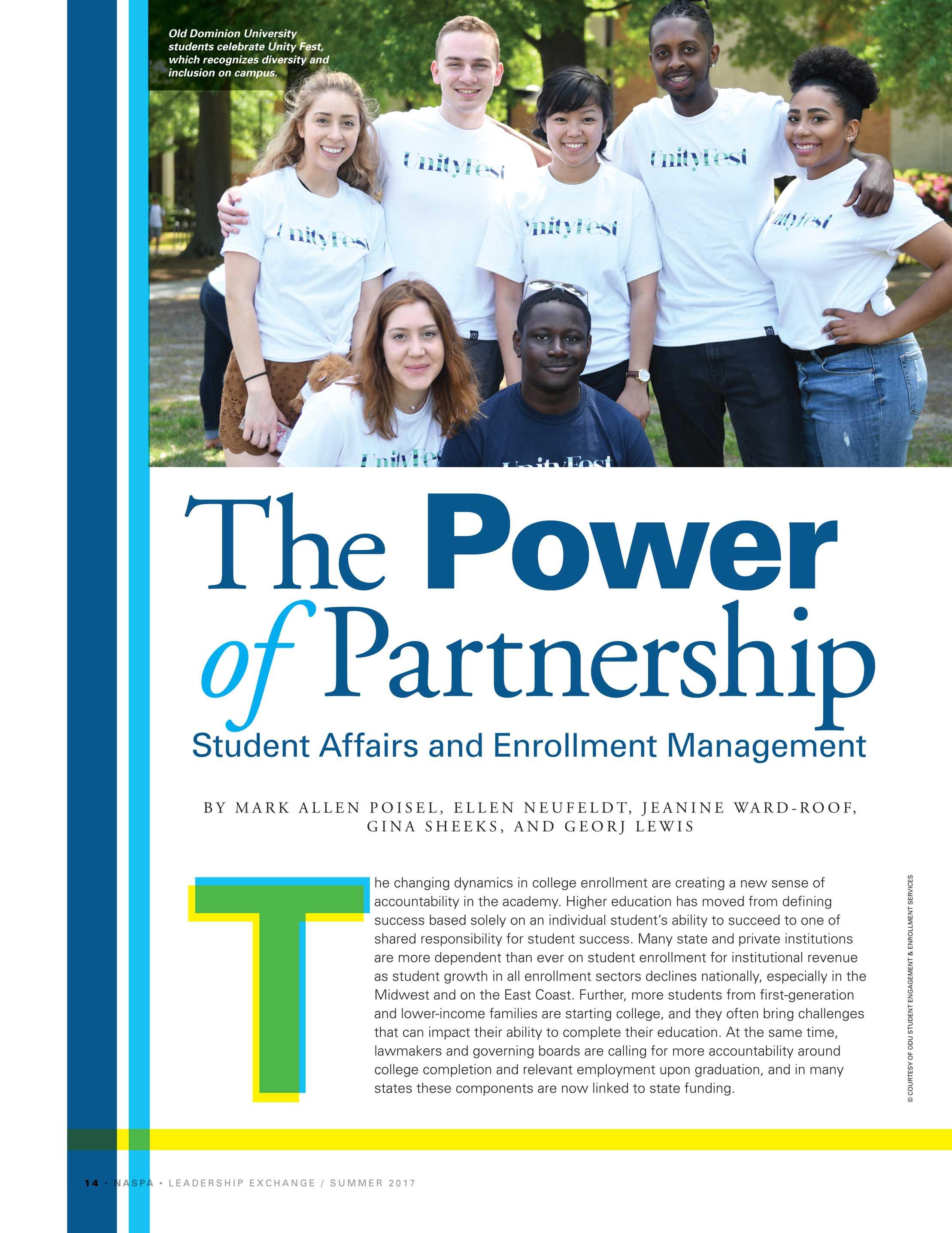 power sharing in partnership working