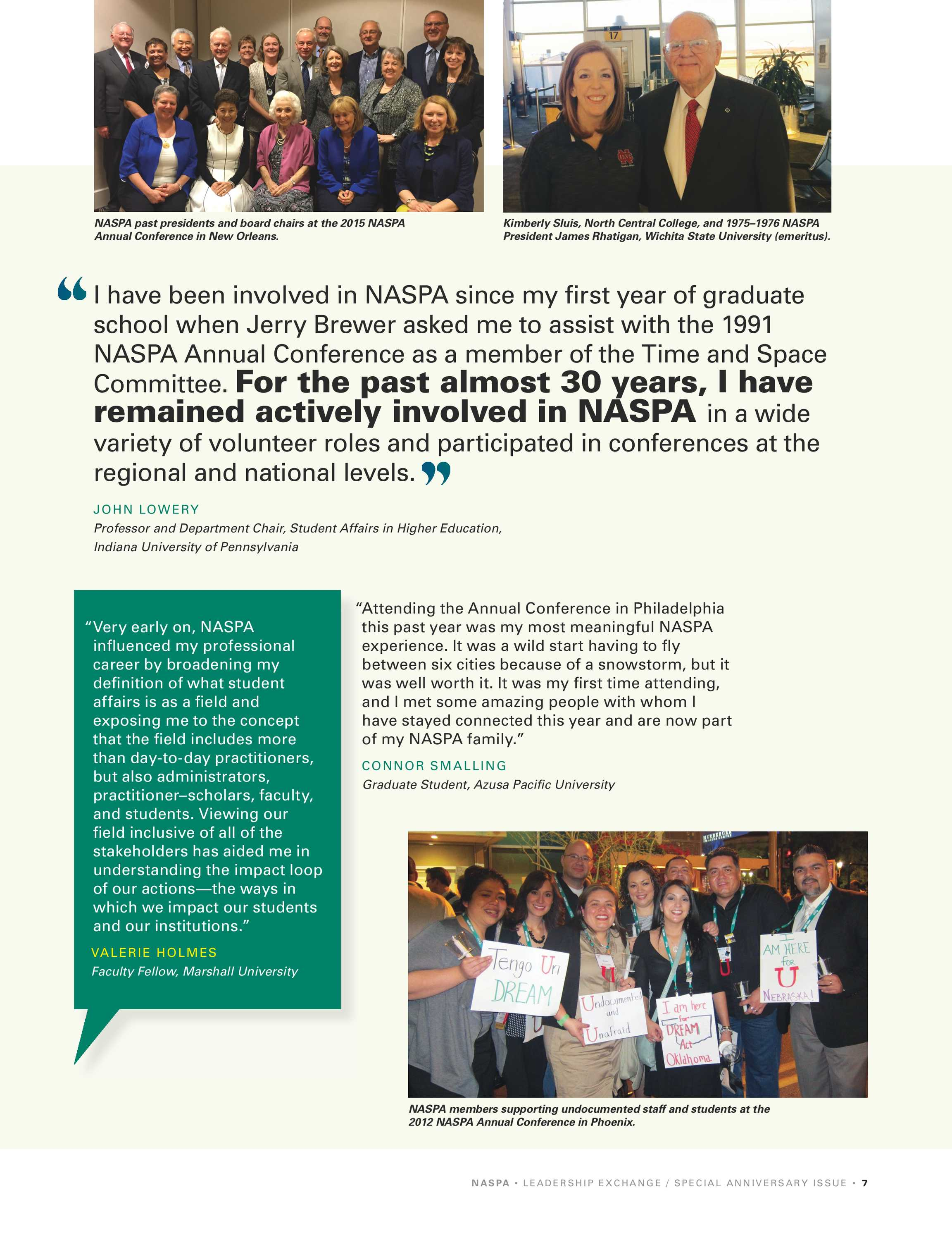 Leadership Exchange - 100th Anniversary 2019 - page 7