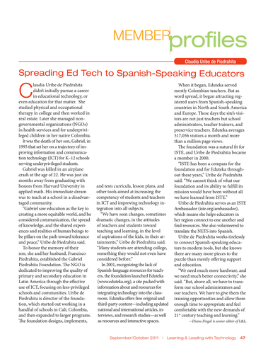 Learning and Leading - September/October 2011 - Page 46-47