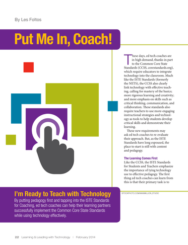 Learning Leading Through Technology February 2014 Page 22 23